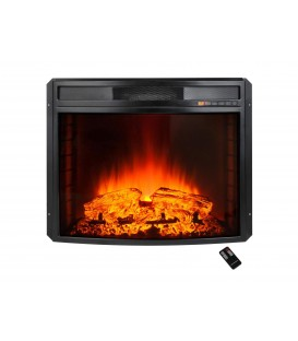 Insertable electric fireplace with remote control CHE-630