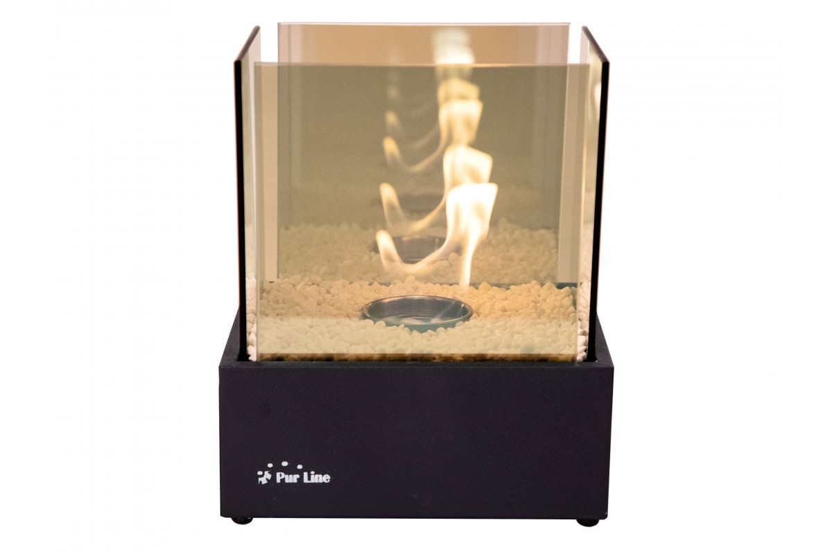 Bio-fireplace with Infinity flamme effect NYMPHA INFINITY